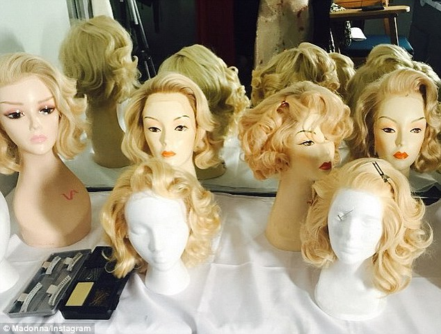 Madonna Shares Rare Behind The Scenes Look At Her Wig