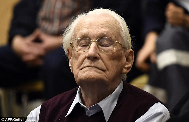 Groening has never denied serving at the Nazis' most infamous death camp, and had admitted moral guilt for his crimes, but denied criminal responsibility, saying he wasn't directly involved in the killings