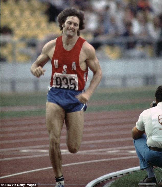 Medalha de ouro: Jenner ganhou a medalha de ouro no decatlo nos Jogos Olímpicos de Verão de 1976 em Montreal