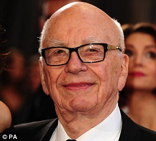 Anti-monarchist: Rupert Murdoch, the head of News UK that owns The Sun, is a well-known opponent of the Royal family