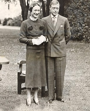 The former King of England, Edward VIII with Wallis Simpson, for whom he abdicated in 1936, less than a year after becoming King