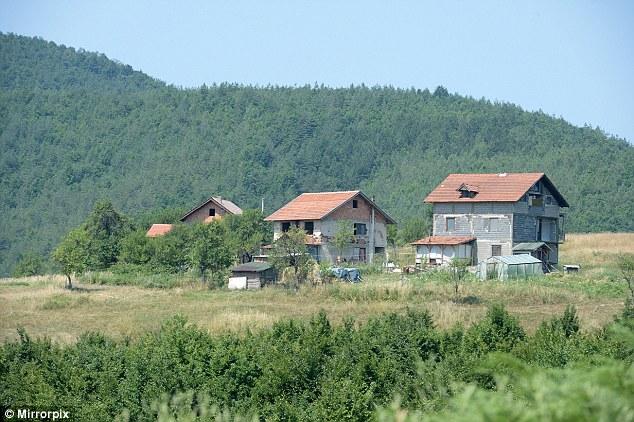 Pintoresco: Terrenos en Osve en Bosnia-Herzegovina, Europa, está siendo comprado por los combatientes ISIS, se ha afirmado