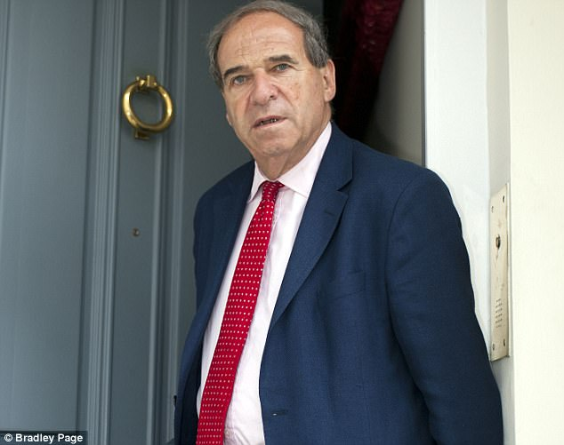 According to the alleged victim, known as Darren, Brittan 'liked boys to dress in women's underwear'