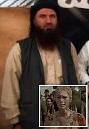 ISIS' 'second-in-command forced to do Cersei Lannister-style walk of shame