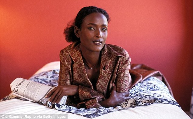 Personal mission: Supermodel Waris Dirie, who was circumcised and had her vagina sewn up, wants to save a million out of the 30 million girls in Africa who face the horror of FGM
