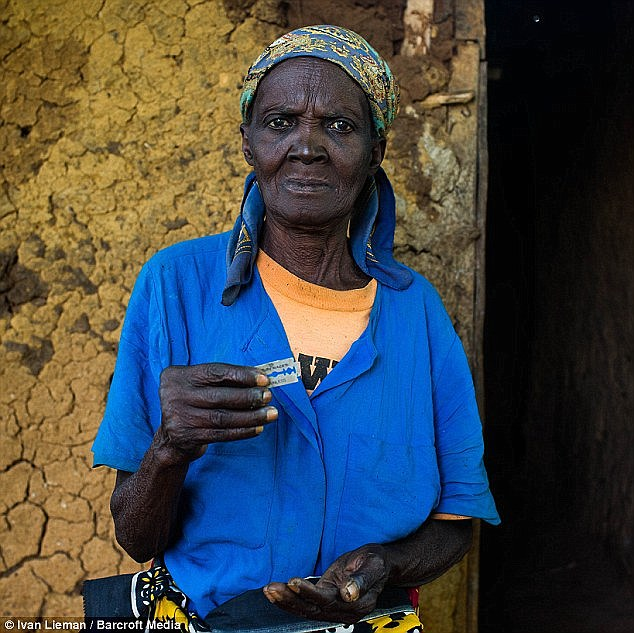 Last month, MailOnline met Anna-Moora Ndege in Kenya who showed the razor blade she uses to perform FGM on girls. She used to use a six-inch nail with one side sharpened on a stone