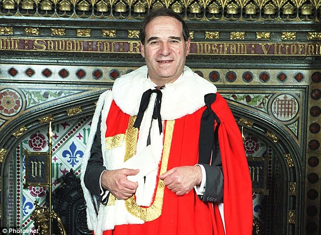 The MP has not been named but other papers in the files related to key government figures from the 1980s, including Thatcher's parliamentary secretary Sir Peter Morrison and ex-Home Secretary Leon Brittan (above)