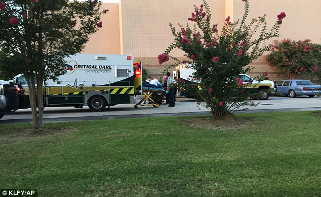 Treated: 11 people were shot with three being reported dead at this time and the other eight at local hospitals