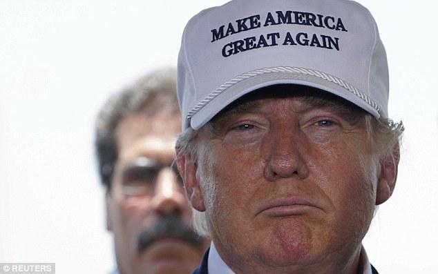 Image result for Trump's baseball cap