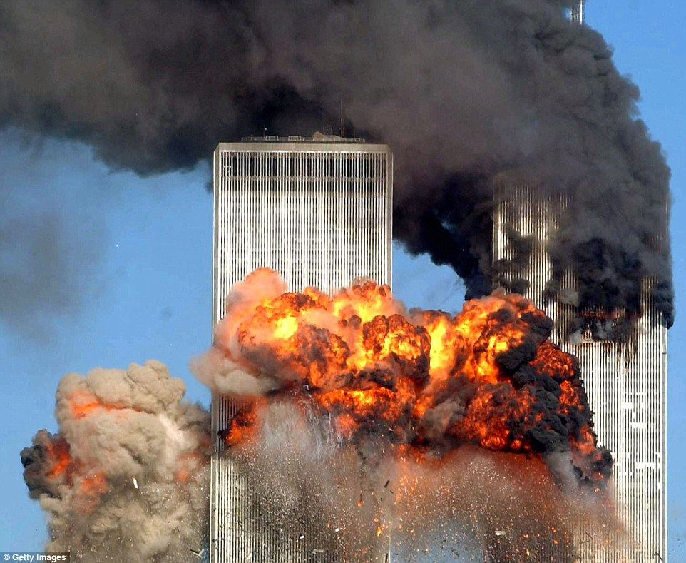 On September 11, 2001, two hijacked passenger planes crashed into two World Trade Center towers (pictured) in New York, another jet struck the Pentagon and a fourth crashed in a Pennsylvania field. The attacks killed a total of 2,996 people, including the 19 hijackers
