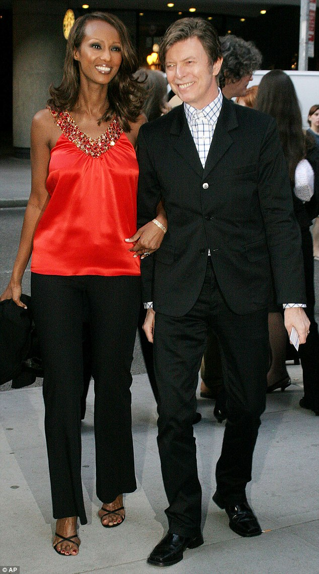 No boundaries: The mother-of-two, who is married to David Bowie (pictured together in 2005), said in a recent interview she doesn't believe age is a limit