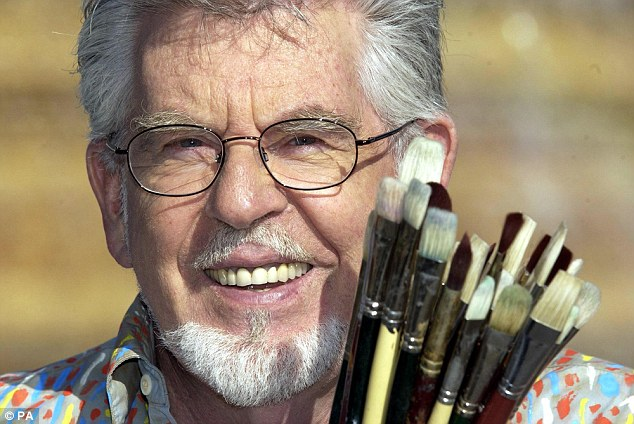 Disgraced: The latest revelation comes after a Mail on Sunday exclusive which disclosed how Rolf Harris had written a sick song while behind bars, accusing his victims of being money-grabbers