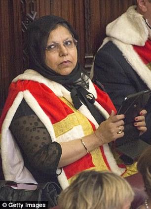 Baroness Uddin (Manzila Pola Uddin)