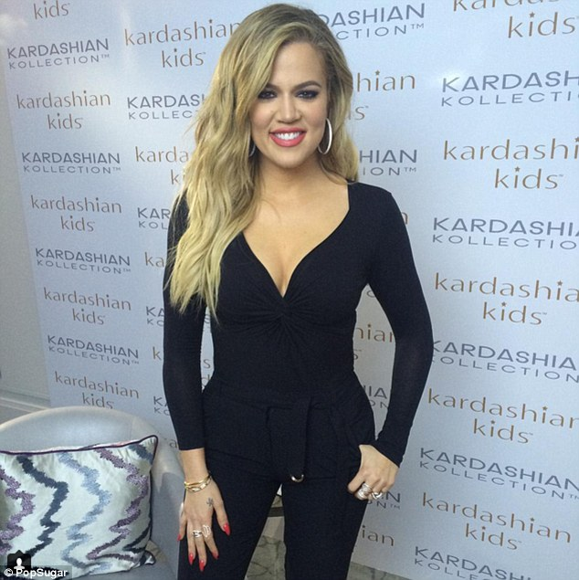 Where have they disappeared? Khloe Kardashian looked slimmer than ever in a figure-hugging black ensemble as she posed in Sydney for an Instagram snap on Wednesday