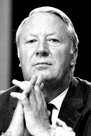 Heath was Prime Minister between 1973 and 1974