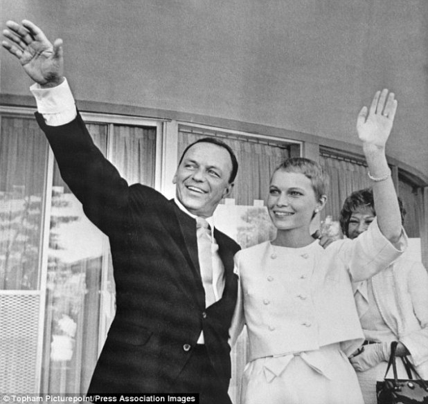 In 1966, after nearly two years with Sinatra, Mia finally met his two adult daughters. Relations were tense to begin with but both women eventually accepted her as a friend. Sinatra, however, didn't help matters by insisting on a secret wedding that July, without any of the family in attendance