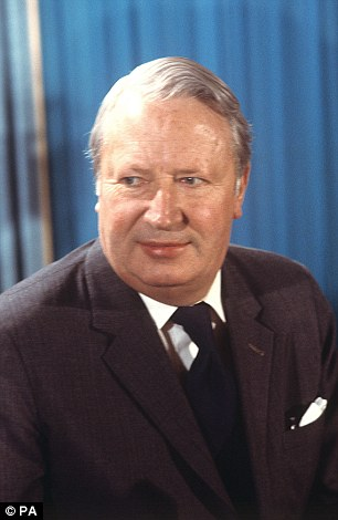 Sir Edward Heath during his years as Prime Minister