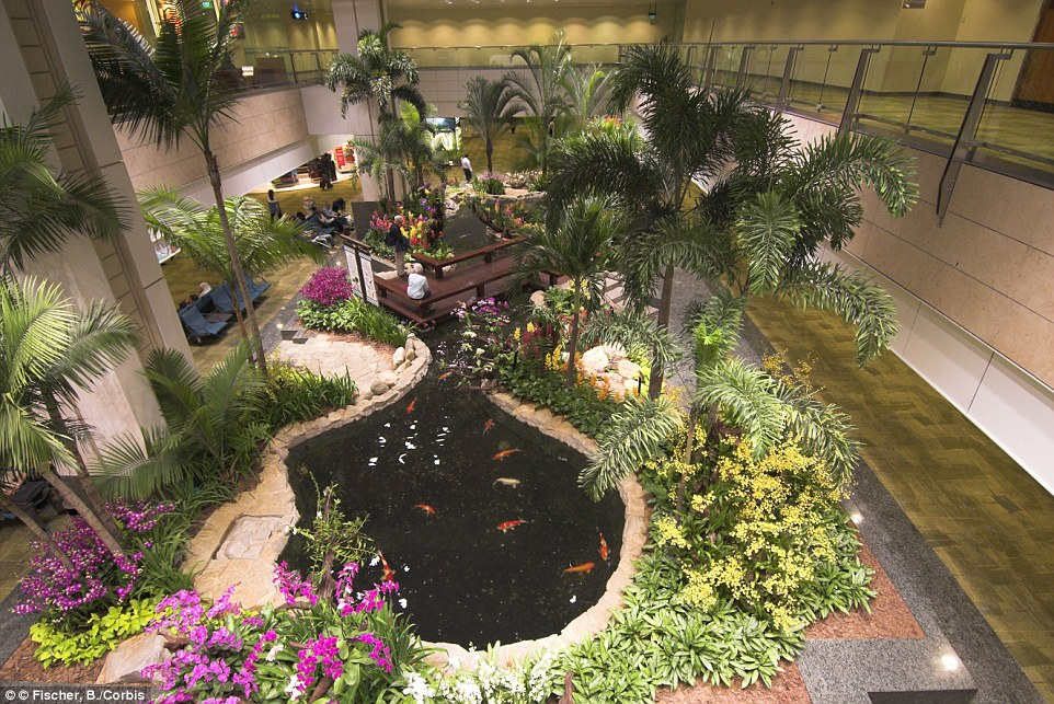 Artificial Plants Koi Ponds