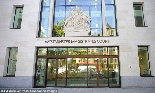Case: Janner did not appear at Westminster Magistrates' Court today after his lawyers argued he was unfit