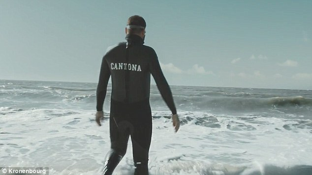 Watch Manchester United Icon Eric Cantona Swim The Channel In Hilarious New Advert Daily