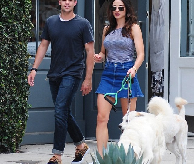 Teen Wolf Hunk Max Carver Reunites With Crystal Reed On Melrose