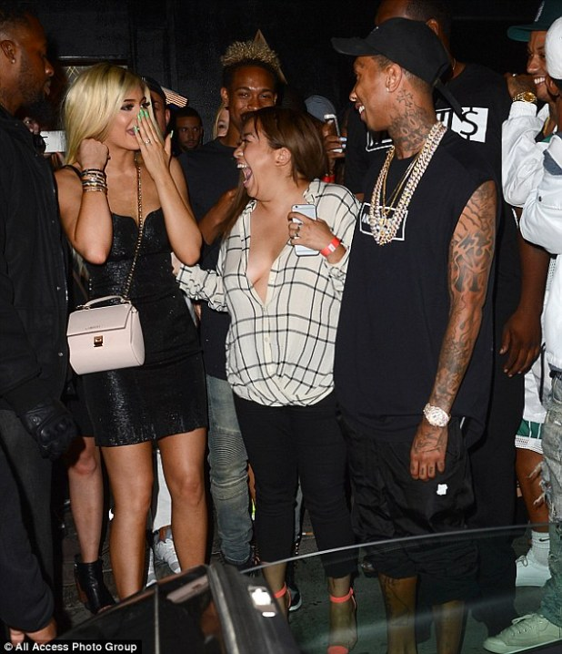 Splashing the cash: Tyga will certainly have scored points with the Kardashian clan after his purchase