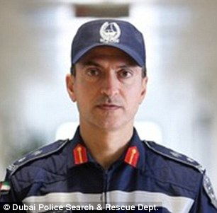 'I cannot forget': Lt Col Ahmed Burqibah said he was shocked by the incident