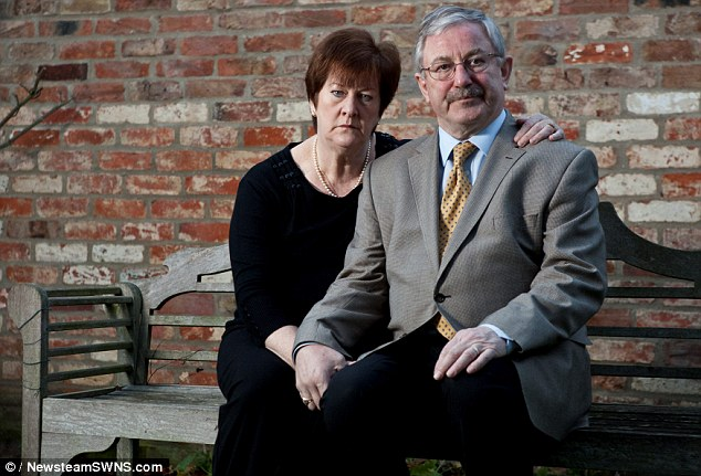 Victims: If Richard and Rita Kauffman don't repay their £376,000 mortgage by a week tomorrow, UK Asset Resolution will repossess their home