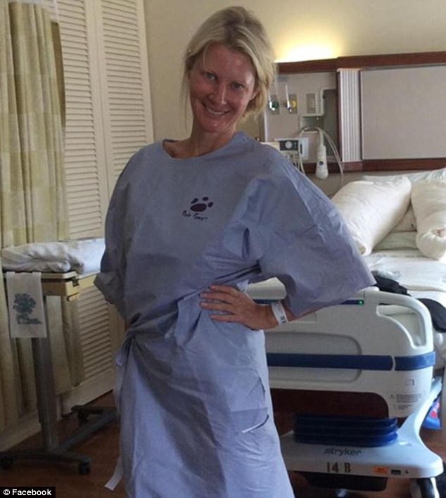 Sandra Lee After Surgery