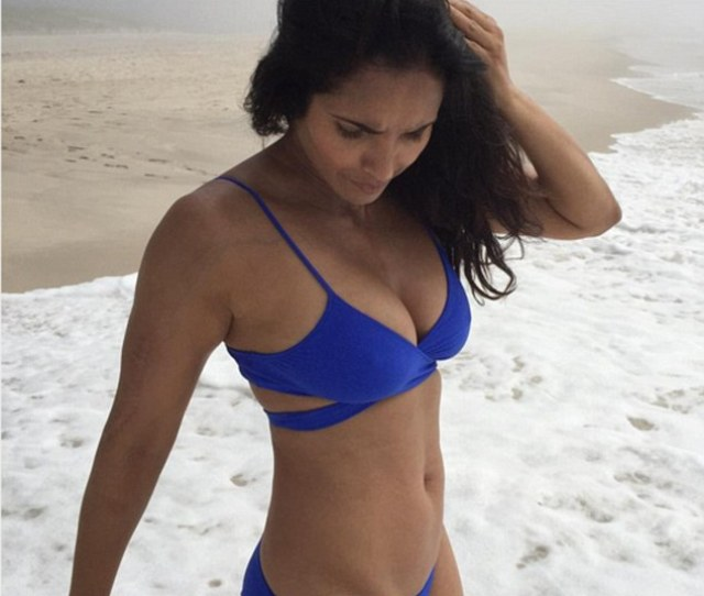 Piling On The Pounds On Thursday Padma Lakshmi Posted A Snap Of Herself In A