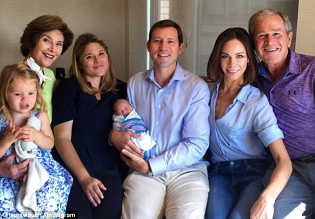 Laura Bush Shares First Family Picture With New