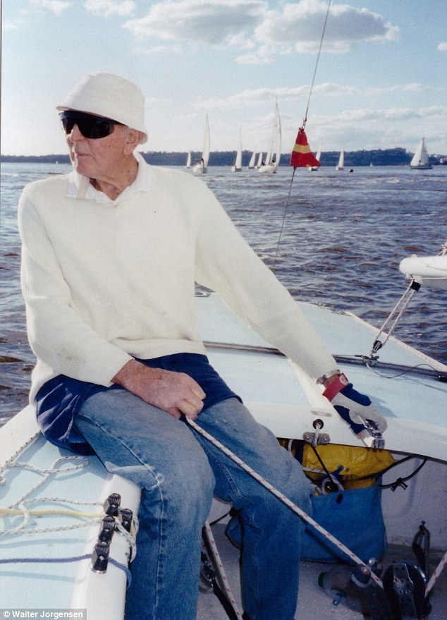 90 Year Old Yachtsman Convinces Daughter To Join Him At