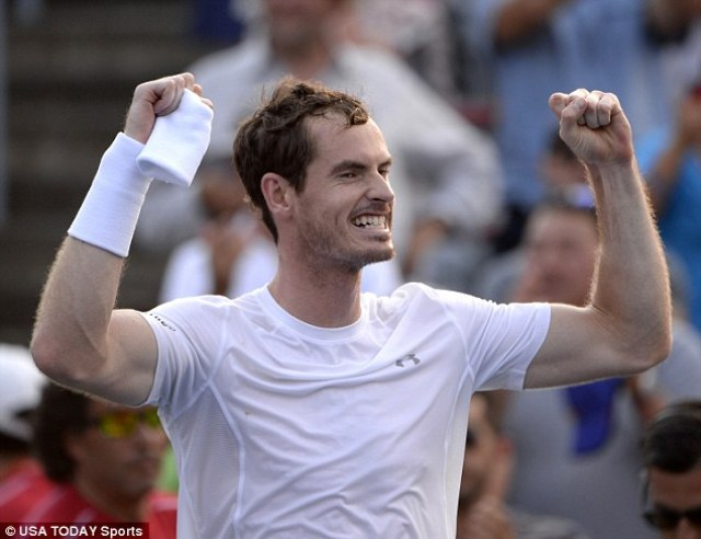 It is the first time that Murray has defeated Djokovic since the Wimbledon final back in 2013