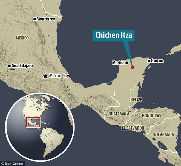 The Maya who built Chichen Itza came to dominate  the Yucatan Peninsula in southeast Mexico, shown above, for hundreds of years before dissappearing mysteriously in the 8th and 9th century AD