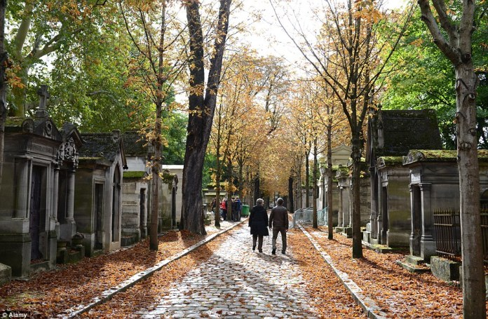 A cemetery may not seem like a desirable place to visit, but the Père Lachaise in Paris is actually the world's most visited cemetery