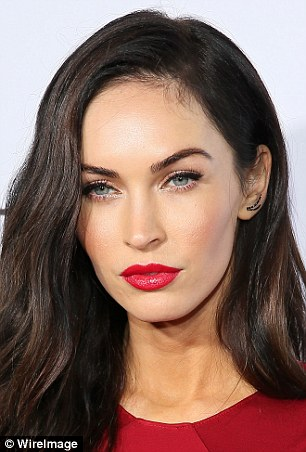 Whose who? Claudia Alende, 22, from Parana, Brazil, is a dead ringer for actress Megan Fox (pictured), 29