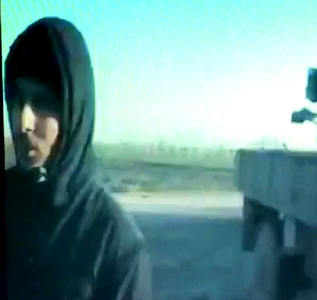 Alive: The video, exclusively obtained by The Mail on Sunday, clearly shows a man claiming to be Jihadi John making direct threats to the UK and its citizens. It is the first footage of him since January