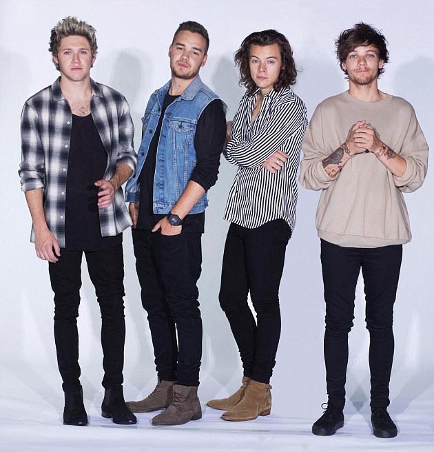Direções diferentes: Niall Horan, Liam Payne, Louis Tomlinson e Harry Styles está pronto para ir suas maneiras separadas no próximo ano