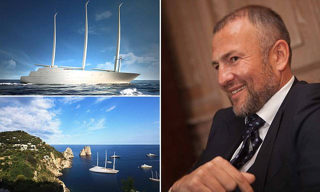 Russian Billionaire Andrey Melnichenko Builds Sailing