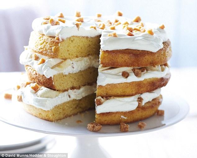 Vanilla Mousse Cake Recipe