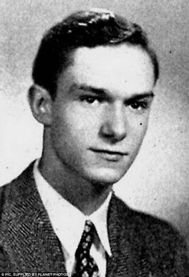 Image result for image hugh hefner as young man
