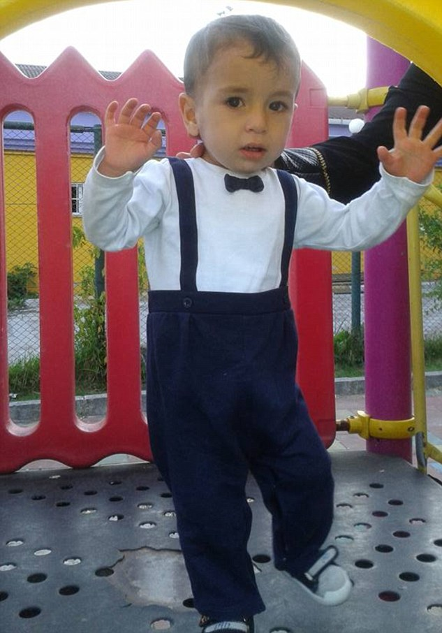 Aylan Kurdi, three, pictured before he died when an overcrowded dinghy capsized shortly into a crossing to the Greek island of Kos