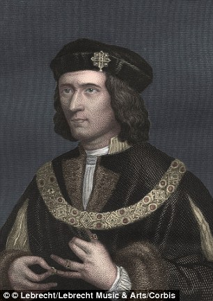 Richard was killed at the Battle of Bosworth in 1485, with his remains found buried under a council car park in Leicester in 2012