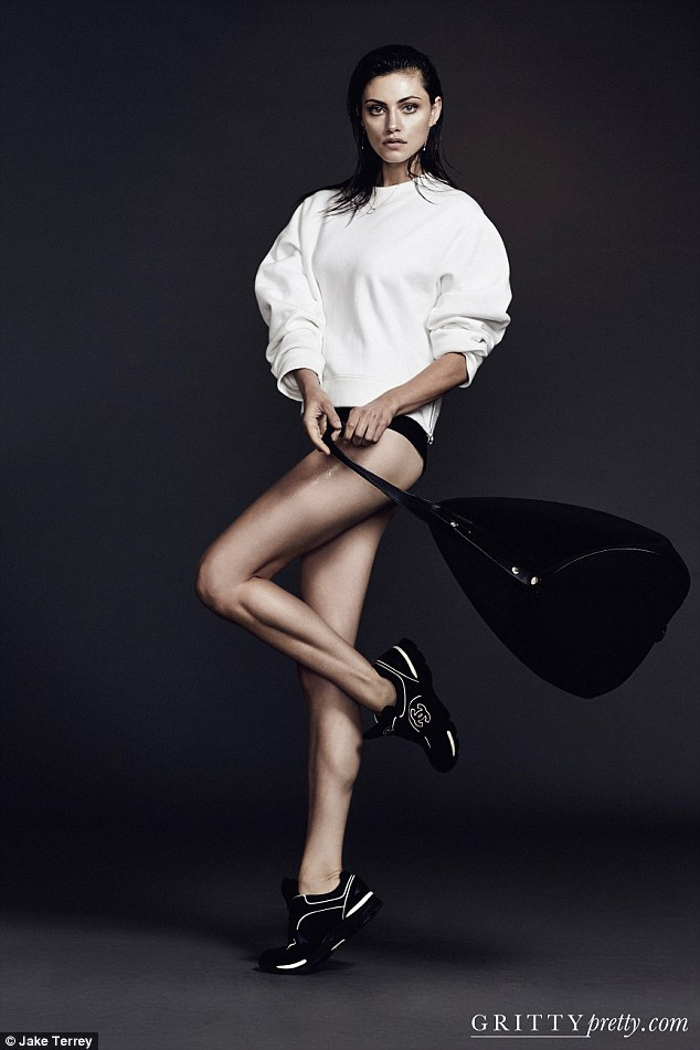 Multi-tasker: Aside from her on-screen work schedule, she has also recently been named as the brand ambassador for Witchery Balance, a new activewear line by Witchery