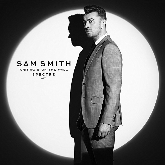 Confirmed: Sam Smith confirmed that he had penned and recorded the new theme song Wirting's On The Wall for the new James Bond, Spectre on Monday night