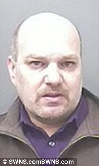 Christopher Knight, David Harsley (pictured) and Robin Hollyson were also among members of the gang, which travelled hundreds of miles to carry out sickening attacks together