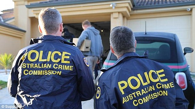 Police raided the homes of three men inKellyville, Miranda, and Sydney CBD following the extensive investigation