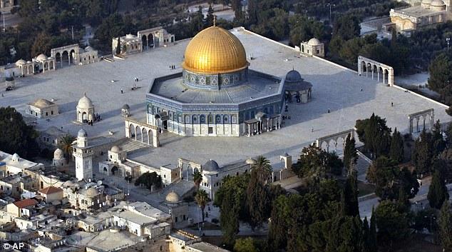 Sagrado: El sitio de Monte del Templo es considerado sagrado por ambos Judios y musulmanes