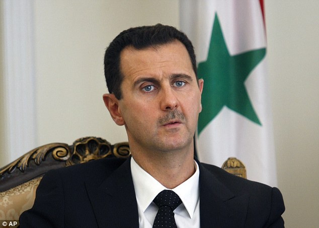 Tyrant: Between January and July of this year alone, troops loyal to Syrian President Bashar al-Assad killed seven Syrians for every one person murdered by members of the Islamic State terror group