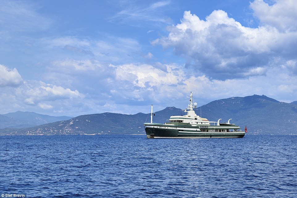 Steel doesn't have the same appearance as a typical superyacht, but it was designed and constructed to go everywhere